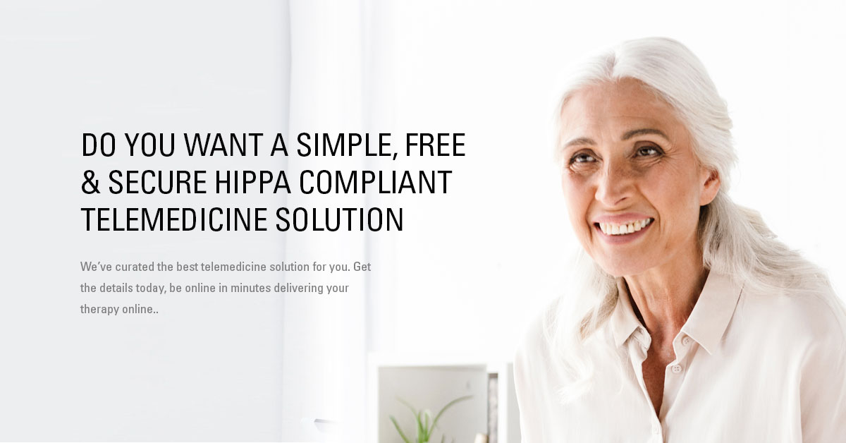 FREE & SECURE TELEMEDICINE SOLUTION