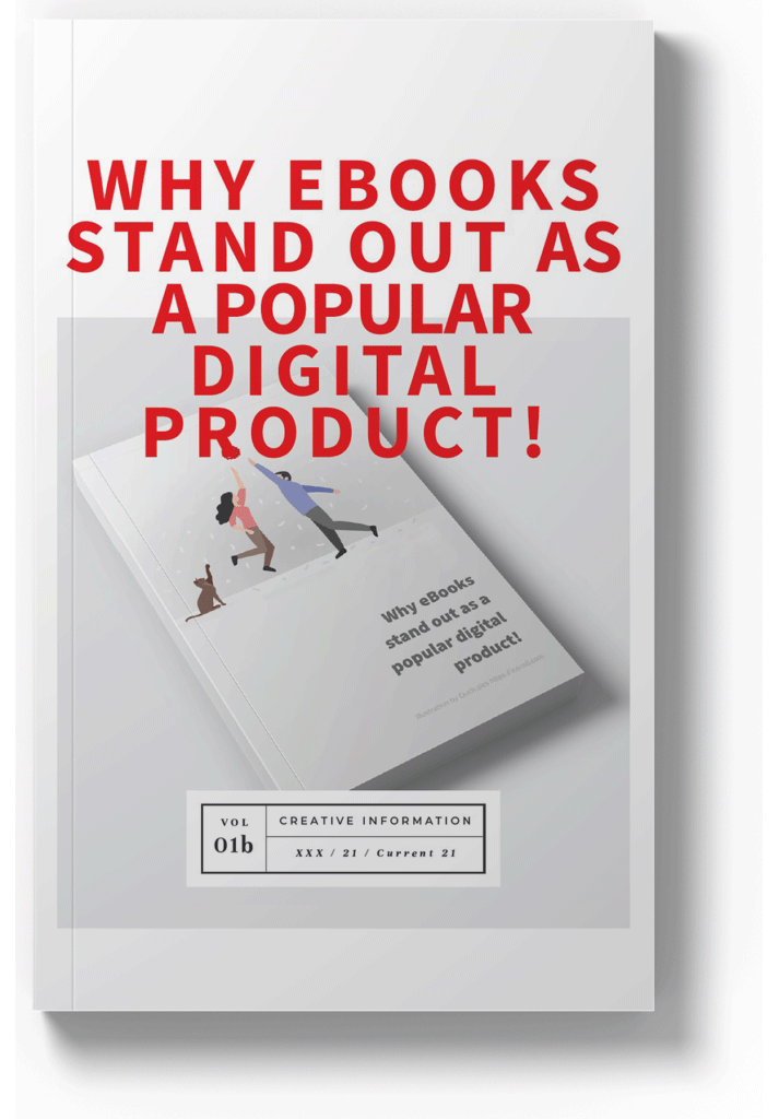 Why eBooks Stand Out as a Popular Digital Product by Bloom Factor