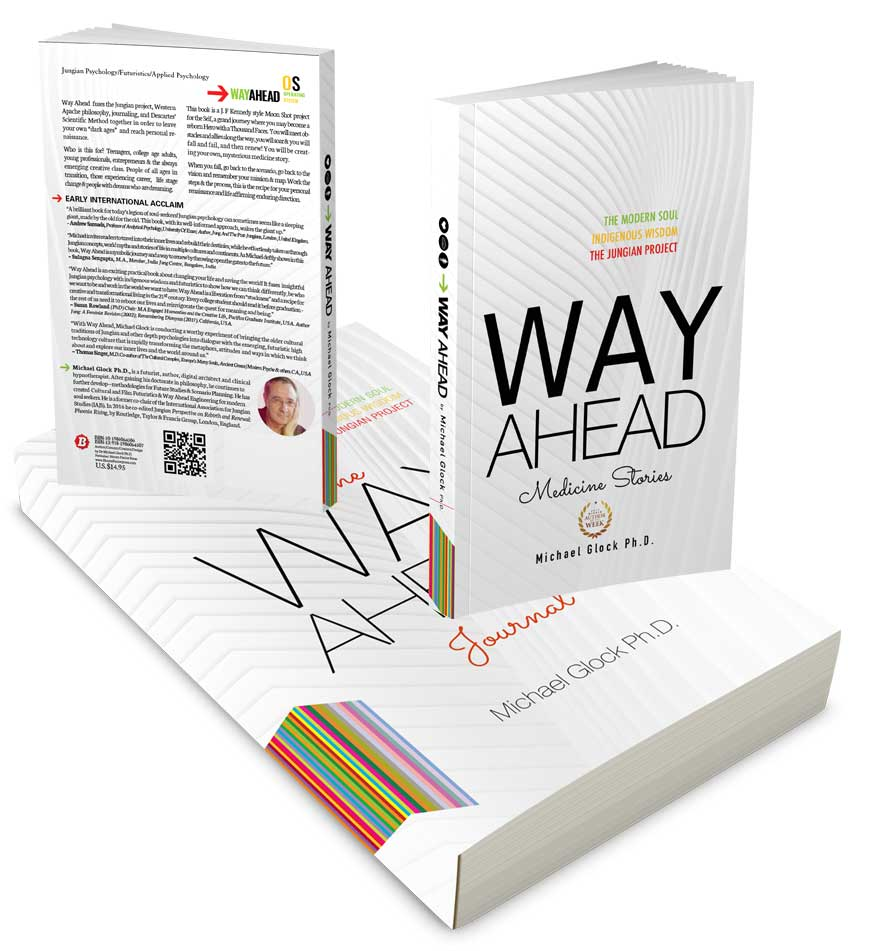 Way Ahead? Book and Journal created by Michael Glock Ph.D., and published by Bloom Factor