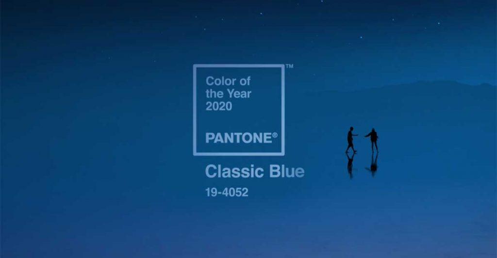 Pantone's Color of the Year for 2020 is…
