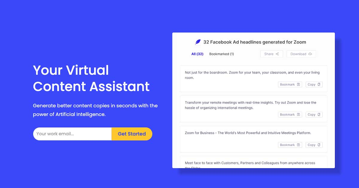 Bloom FActor Inc uses Peppertype. Your Virtual Content Assistant Generate better content copies in seconds with the power of Artificial Intelligence.